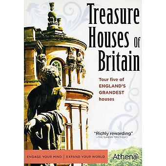 Treasure Houses of Britain [DVD] Usa tuonti