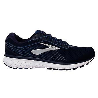 ברוקס רוח רפאים 12 תחרה עד חיל הים כחול ארוגים גברים נעלי ריצה מאמנים 1103161D438