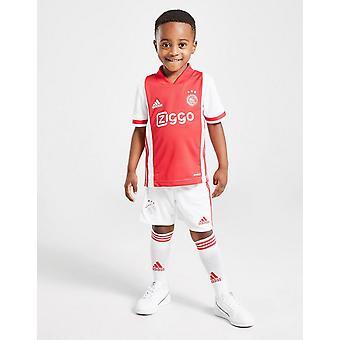 New adidas Boys' Ajax 2020/21 Home Kit White
