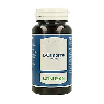 L-Carnosine 60 كبسولات نباتية من 200mg