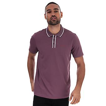 Men's Ted Baker Bunka Polo Shirt in Purple
