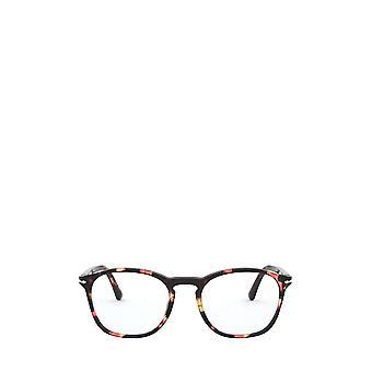 Persol PO3007VM rosa & brun sköldpadda manliga glasögon