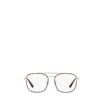 Vogue VO4140 top havana / pale gold female eyeglasses