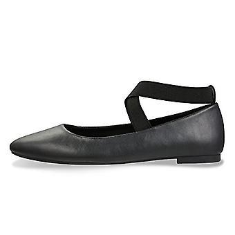 CINAK Women's Ballet Flats- Comfortable Classic Shoes Black Ballerina Walking...