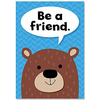 Be A Friend Woodland Friends Inspire U Affiche