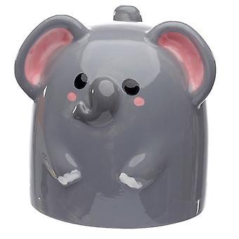Puckator Cutiemals Elefante al revés taza