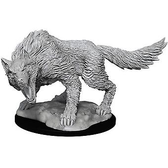 D&D Nolzur's Marvelous Unpainted Miniatures Winter Wolf (Pack Of 6)
