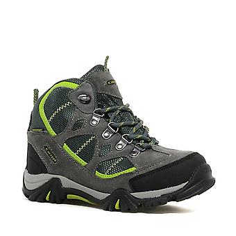 New Hi-Tec Boy's Renegade Waterproof Walking Boots Grey