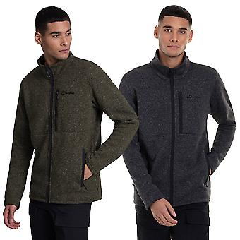 Berghaus Mens 2021 Vallen Interactive Light Warm Knit Outdoor Fleece Jacket