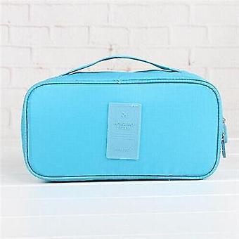 Portable Underwear Bra Storage Bag Waterproof Travel Organizers