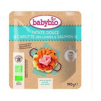 Sweet Potato Carrot Landes Salmon 190 g