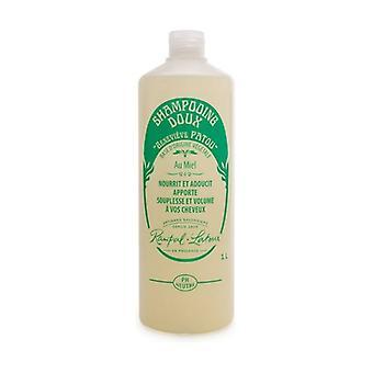 Natural honey shampoo, honeysuckle scent 1 L