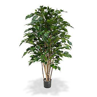 Artificial Ficus Exotica Deluxe 125 cm groen