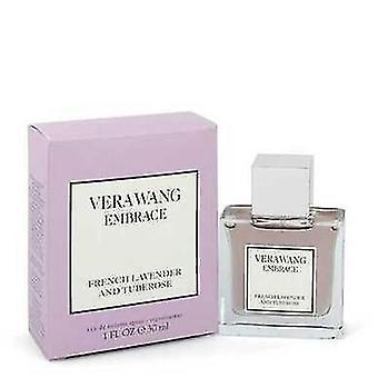 Vera Wang omarmen Franse lavendel en Tuberoos door Vera Wang Eau de Toilette Spray 1 oz (vrouwen) V728-547547