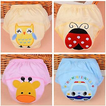 10pcs Baby Training Cloth Study Pant Reusable Diapers Nappy Cover