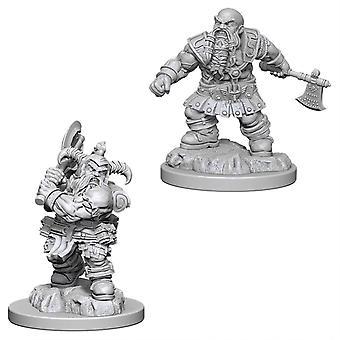 Male Dwarf Barbarian D&D Nolzur's Marvelous Unpainted Miniatures W4 (6 Units)