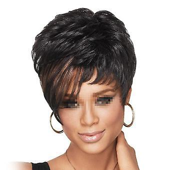 تذبذب الأفريقية قصيرة الشعر كرة لولبية الشعر قبعة