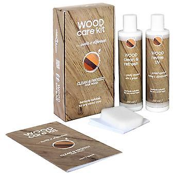 Kit de cuidado de madera Kit de cuidado 2x250 Ml