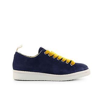 Pànchic Blue Mustard Suede Sneaker