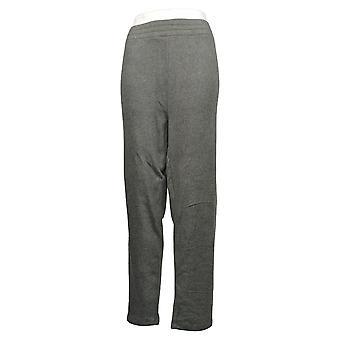 Women With Control Leggings Plus Reversible Slim Leg Gray A390041