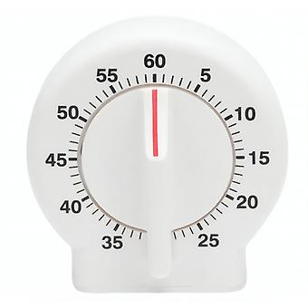 time switch clock around 7.6 x 4.1 cm white