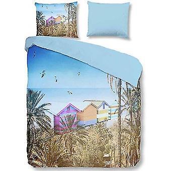 bed linen summer 240 x 220 cm microfiber multi-coloured
