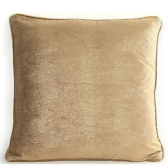 pillow Carola 45 x 45 x 10 cm textile brown