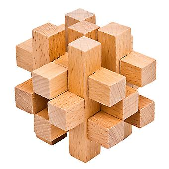 Hyvin fontti Luban Lock Puzzle Lelu