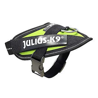 יוליוס-K9 IDC-Powerharness לכלבים גודל: תינוק 1 ניאון ירוק
