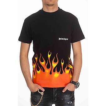 Black Palm Angels men's short-sleeved T-shirt