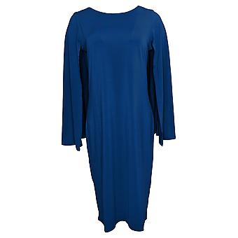 Antthony Dress Small Cape Pullover Sheath Blue 716496