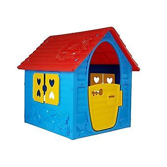 Dom zabaw dla dzieci – 90x98x106 cm – Niebieski