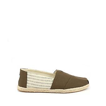 TOMS - Shoes - Slip-on - ESPADRILLE-10013528 - Men - saddlebrown,wheat - US 9