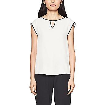 s.Oliver BLACK LABEL 11.803.32.2818 T-Shirt, Ivory (Peace Cream 0115), 48 Woman