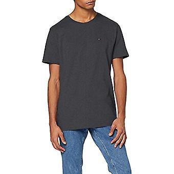 Tommy Jeans Tjm Essential Solid Tee T-shirt, Grey Pya, Small Man