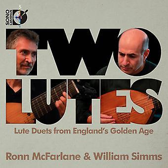 Johnson/Marchant/Pilkington/Danyel/Dowland/Robinso - Two Lutes [CD] USA import
