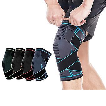 Kniepolster Sport Fitness atmungsaktive Nylon verstellbaren Gelenk protektor