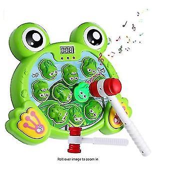 Interaktiv thump frosk spill holdbar tunge leker morsomme gaver til barn