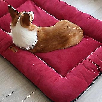 45 * 35 *7Cm赤いペットパッド屋内すべての季節耐水性の耐久犬のベッドx4810