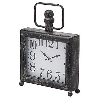 Hill Interiors Distressed Mantel Clock