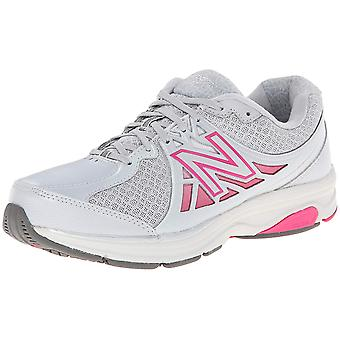 Uusi tasa paino naisten WW847V2 kangas matala alkuun pitsi ylös kävely kengät