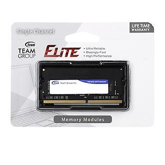 Team Elite 8 GB ingen kylfläns (1 x 8 GB) DDR4 2400 MHz SODIMM-systemminne