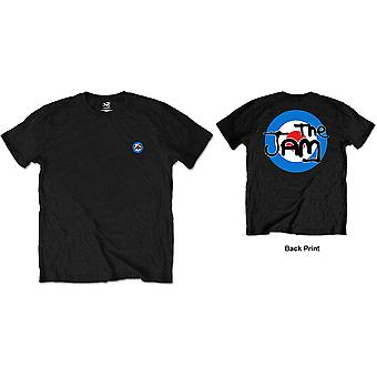 The Jam - Target Logo Men's XX-Large T-Shirt - Black