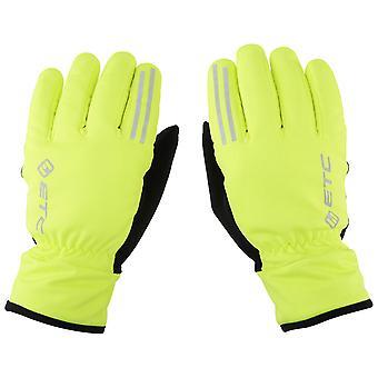 ETC Aerotex Winter Glove Yellow Small