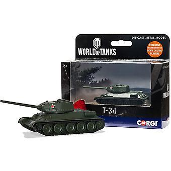 Corgi World of Tanks T34 Diecast Modell