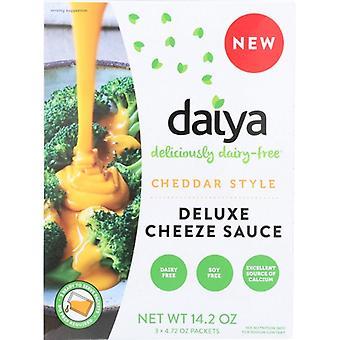 Daiya Sauce Chze Chdr Style Dlx, tilfælde af 8 X 14,2 Oz