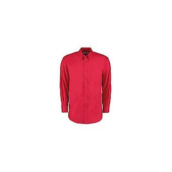 Kustom Kit Men's Long Sleeve Corporate Oxford Shirt KK105
