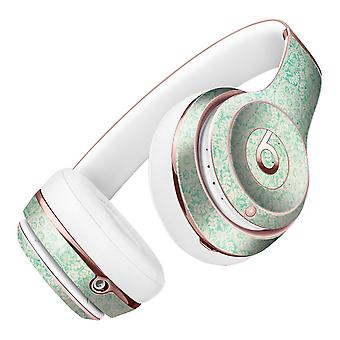Micro Faded Green Damask Pattern Full-body Skin Kit For The Beats By