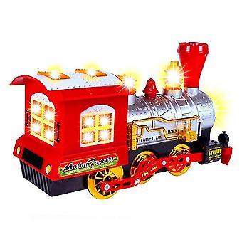 Kids Bubble Toy Magic  Train Locomotive Engine Car Bubble Machine Toy Child Battery Make