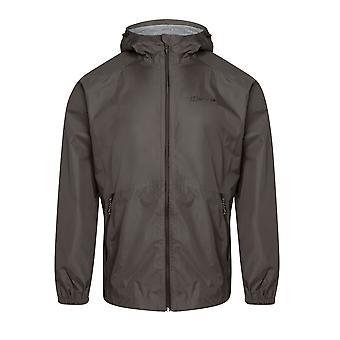 Berghaus Deluge Light Mens Waterproof Full Zip Hooded Jacket Coat Grey